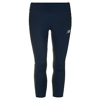 New Balance Womens Run Capri Tights Ladies Leggings Bottoms Pants
