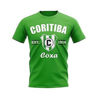 Coritiba etablerte fotball T-skjorte (grønn)