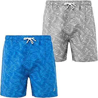 Kangol Mens Hacker Plus Big Tall King Taille Natation Natation Shorts Trunks