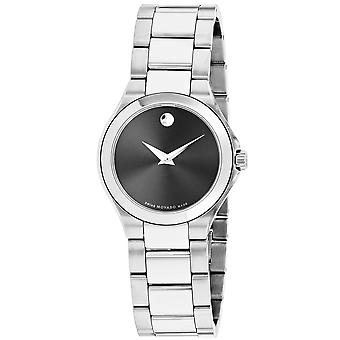 Movado Women's Classic Black Dial Watch - 607308