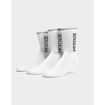 New McKenzie Junior 3 Pack Footwear Accessories Socks white