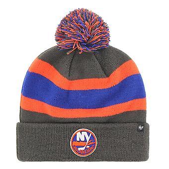 47 Brand Knit Winter Hat - BREAKAWAY New York Islanders