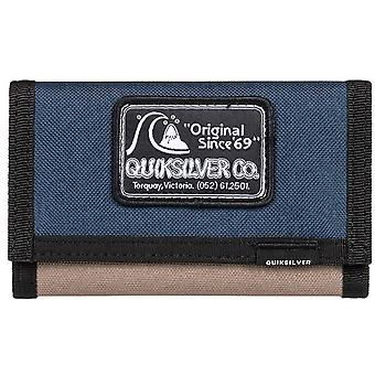 Quiksilver The Everydaily Patch Youth Polyester Wallet in Moonlit Ocean