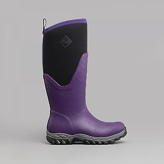 Muck Boots Arctic Sport Ii Tall Ladies Rubber Wellington Boots Acai Purple
