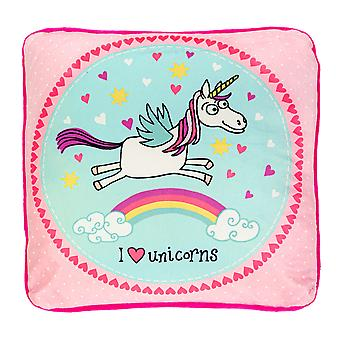 Tyrrell Katz Unicorns Plush Cushion