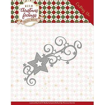 Vind het handelen kostbare Marieke sterven-Kerstmis Swirl, warme kerst gevoelens