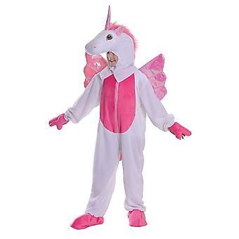 Ragazze Unicorn Fancy Abito Costume (5-6 Anni)