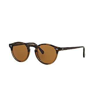 Oliver Peoples Gregory Peck SUN OV5217S 1001/53 Tortoise/Crystal B15 Brown Sunglasses
