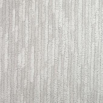 Crown Bergamo Leather Texture Silver Light Grey Wallpaper