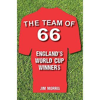 فريق 66 في إنجلترا الفائزين في مسابقة كأس العالم قبل جيم موريس-978144563