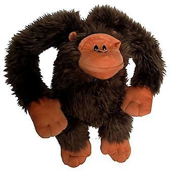 """Petlou Plush Gorilla Lou Dog Toy, 24"""""""
