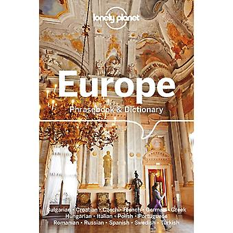 Lonely Planet Europe Phrasebook  Dictionary