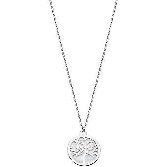 Necklace and pendant Lotus Silver TREE OF LIFE LP1821-1-1 - necklace and pendant TREE OF LIFE money woman
