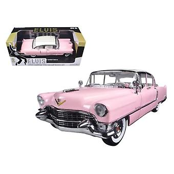 1955 Pink Cadillac Fleetwood Series 60 Special 'Elvis Presley' 1/18 Diecast Model Car par Greenlight