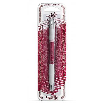 Rainbow Dust Double-Sided Food Pens Edible Food Pen Burgundy