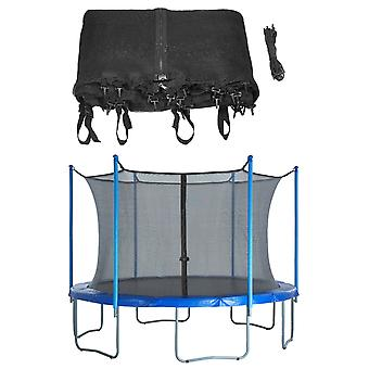 Trampoline Replacement Enclosure Surround Safety Net - Protective Inside Netting