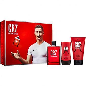 Cristiano Ronaldo CR7 EDT Spray 100ml, Shower Gel & Aftershave Balm Set