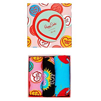 Happy Socks I Love You Gift Box - 3 Pack