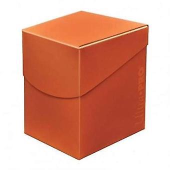 Ultra Pro 85689 Eclipse Pro 100+ Deck Box - Pumpkin Orange