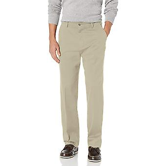 DOCKERS Men's Classic Fit Easy Khaki Pants D3,, Cloud (Stretch), Size 33W x 30L