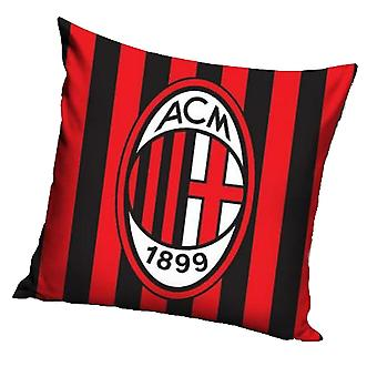 AC Milan Crest Stripe Cushion