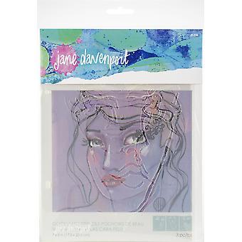 Jane Davenport Artomology Stencils - Good Face