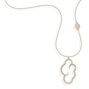 Vixi sieraden DayDream Rose Gold Grote wolk hanger ketting Dames Sieraden DAYO-LP. R