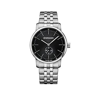 Wenger Unisex Quartz analogue watch with stainless steel band 01.1741.105