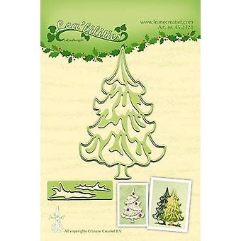 レクレア・リー・ビリティカットとエンボスダイ - クリスマスツリー