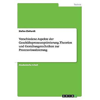 Verschiedene Aspekte der Geschftsprozessoptimierung. Theorien und Gestaltungstechniken zur Prozessvisualisierung by Ehrhardt & Stefan