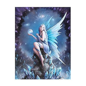 Anne Stokes Star Gazer Canvas Plaque