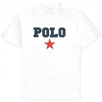 ポロ ラルフ ローレン ラルフ ローレン ポロ M スター ロゴ T シャツ ホワイト 710741389