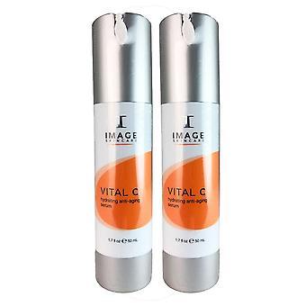 Image vital c hydrating anti-aging face serum 1.7 oz duo pack