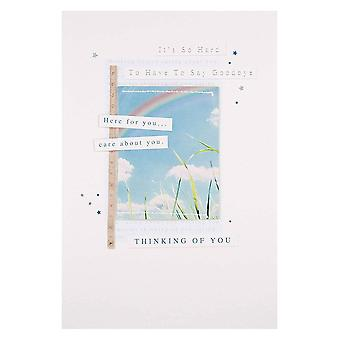 Hallmark Its So Hard To Have To Say Goodbye Sympathy Bereavement Card 25464710