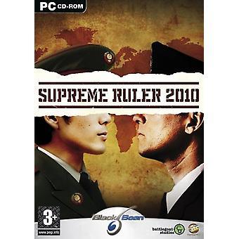 Supreme Ruler 2010 (PC CD)-ny