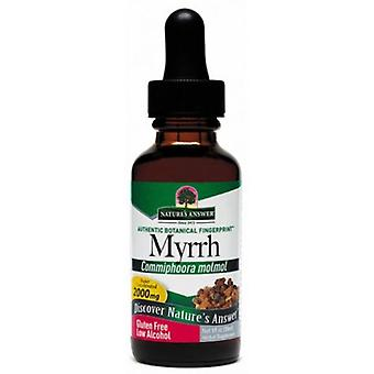 Nature's vastaus Myrrh Oleo-Gum-hartsi 30ml 1421
