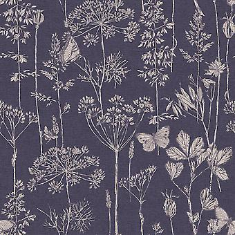 Ville et country Meadow Floral Wallpaper Arthouse