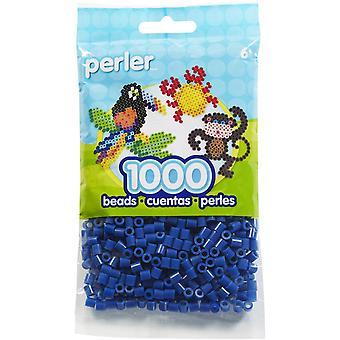Perler Beads 1,000/Pkg-Dark Blue