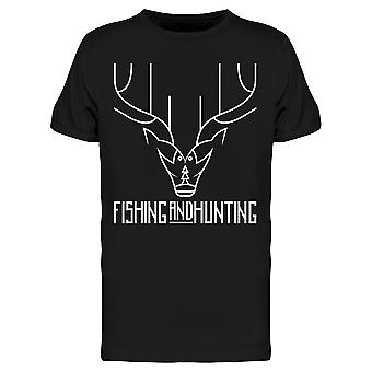 Fish And Hunt Tee Men's -Image by Shutterstock Men's T-shirt