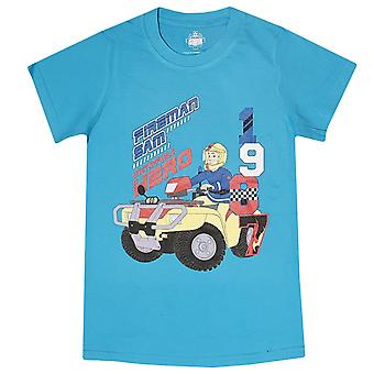 Fireman sam boys t-shirt