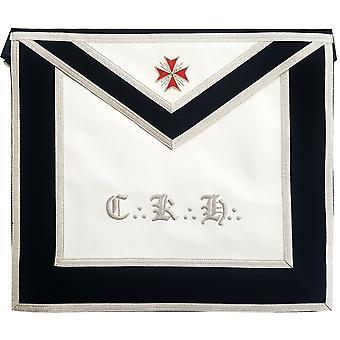 Masonic scottish rite leather apron - aasr - 30th degree - knight kadosch