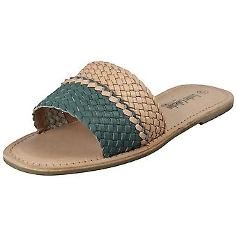 Ladies Leather Collection Casual Open Toe Summer Mule