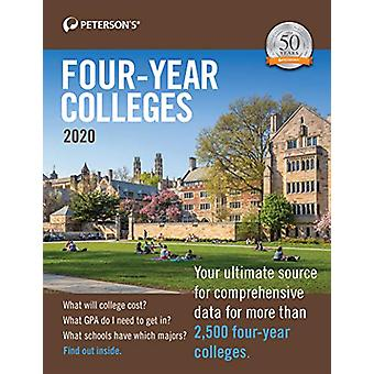 Four-Year Colleges 2020 by Peterson's - 9780768942446 Book