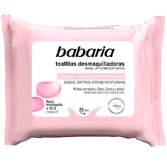 Babaria Rosehip Make-up Remover Wipes