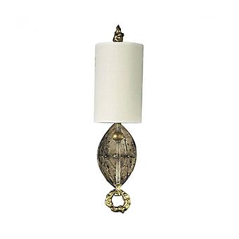 Dumaine Wall Lamp, Cream And Gold