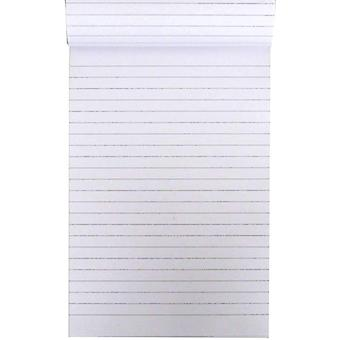 A5 Ruled White Paper Writing Notepad 100 Sheets