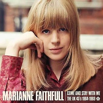 Marianne Faithfull - Come & Stay with Me: The Uk 45S 1964-69 [CD] USA import