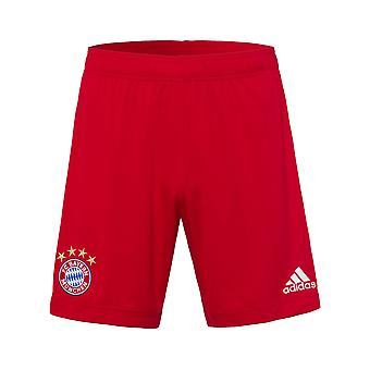 2020-2021 Bayern Munchen Adidas Home Shorts (Red) - Copii