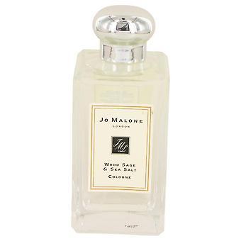 Jo Malone madera sabio & la mar sal Colonia Spray (Unboxed Unisex) por Jo Malone 3.4 oz Colonia Spray