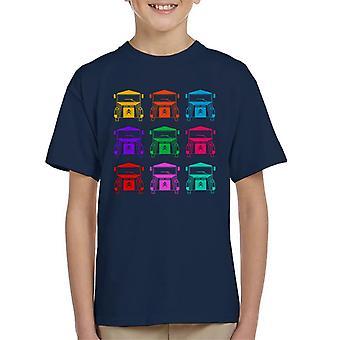 Citro�n Vintage Type H Van Colour Pattern Kid's T-Shirt